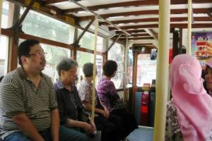Di dalam tram kuno